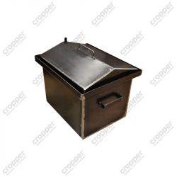 Коптильня Hot Smoking: 420х340х270, крышка домик, сталь 2 мм