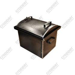 Коптильня Hot Smoking: 420х340х330, крышка круглая, сталь 2 мм