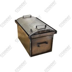 Коптильня Hot Smoking: 510х320х330, кришка кругла, сталь 1.5 мм