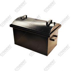 Коптильня Hot Smoking: 510х320х330, кришка кругла, термофарба, 1.5 мм