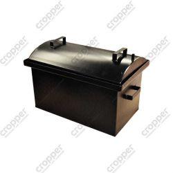 Коптильня Hot Smoking: 510х320х330, кришка кругла, термофарба, 2 мм
