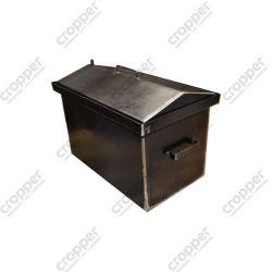 Коптильня Hot Smoking: 520х310х330, кришка будиночок, сталь 2 мм