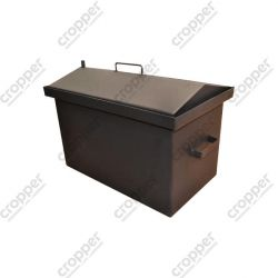 Коптильня Hot Smoking: 520х310х330, кришка будиночок, термофарба, сталь 2 мм