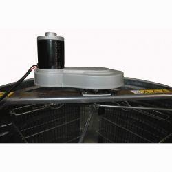 Медогонка 2 - х рамочная поворотная оцинкованная с электроприводом (М93241А)