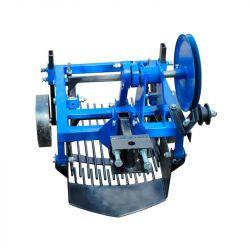 Картофелекопалка вибрационная 2х эксцентриковая под мототрактор с гидравликой (Скаут)