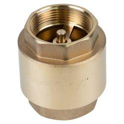 """Клапан обратный F1 1/2""""×F1 1/2"""" (латунь) euro 640г AQUATICA (779658)"""