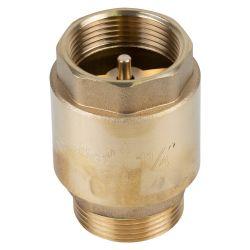 """Клапан обратный M1 1/4""""×F1 1/4"""" (латунь) euro 510г AQUATICA (779657)"""