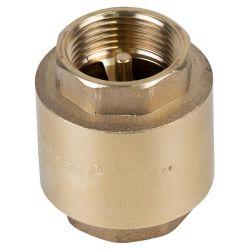 """Клапан обратный F3/4""""×F3/4"""" (латунь) euro 205г AQUATICA (779652)"""