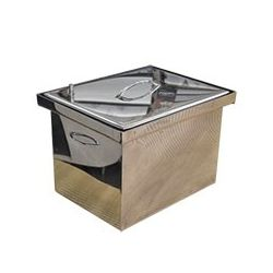 Коптильня Hot Smoking: 400х310х280, крышка плоская, нержавейка 1.5 мм