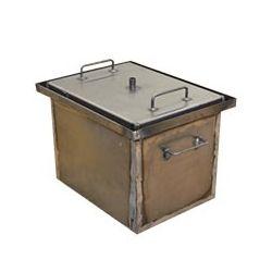 Коптильня Hot Smoking: 400х310х280, крышка плоская, сталь 1.5 мм