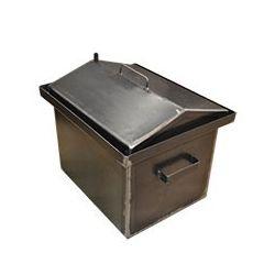 Коптильня Hot Smoking: 420х340х270, кришка будиночком, сталь 2 мм