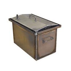 Коптильня Hot Smoking: 500х300х300, крышка домик, сталь 1.5 мм