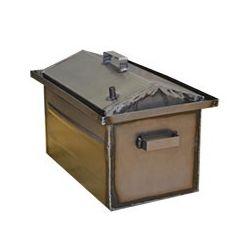 Коптильня Hot Smoking: 510х320х320, кришка будиночок, сталь 1.2 мм