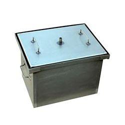 Коптильня Smoke-House: 400x300x280, кришка пласка, сталь 1.5 мм