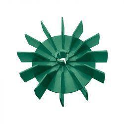 Крыльчатка для охлаждения двигателя доильного аппарата