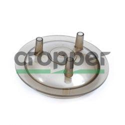 Крышка доильного ведра самоприжимная поликарбонат