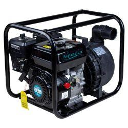 Мотопомпа 5.5л.с. Hmax 30м Qmax 38м³ / ч (4-х тактний) для агресивного середовища AQUATICA (772539)