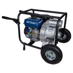 Мотопомпа 7.5л.с. Hmax 26м Qmax 60м³ / ч (4-х тактний) для брудної води WETRON (772557)