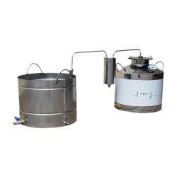 Непроточный дистиллятор Cropper на 40 литров с сухопарником и емкостью под воду