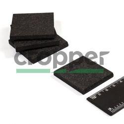 Пластина вакуумного насоса 42*42*5мм композит (графит) 4 шт
