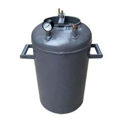 Автоклав из газового балона для консервирования Троян РБ-28