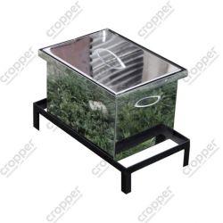 Коптильня Smoke-House: 400х300х280, крышка плоская, нержавейка 1.5 мм