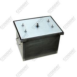 Коптильня Smoke-House: 400x300x280, крышка плоская, сталь 1.5 мм