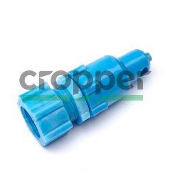 Вакуумрегулятор ПВХ синий на доильный аппарат