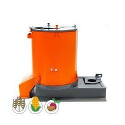 Побутовий універсальний кормоподрібнювач Колос (коренеплоди 800 кг/год + лущилка і зернодробарка 350 кг/год), без двигуна
